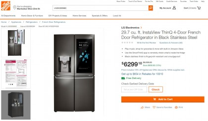 LG InstaView ThinQ 4-Door French Door Refrigerator in Black Stainless Steel LNXS30996D.jpg