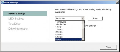 FreeAgent GoFlex - Seagate Dashboard Utilities - Adjust Drive Sleep Interval.jpg