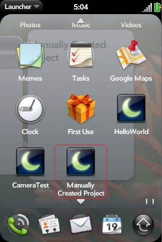 webos-manually-created-app-in-launcher.jpg
